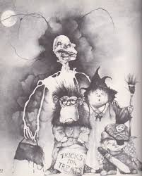 Printable Halloween Poems by Razorwire Pictures Stephen Gammell U0027s World Of Horror