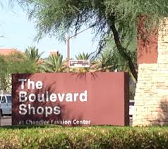 Chandler Mall Map The Boulevard Shops At Chandler Fashion Center Shopping Centers