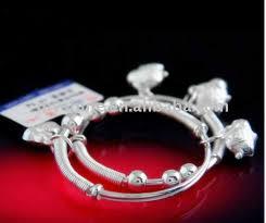 silver bracelet gift images Lovely new born baby silver bracelet gift buy baby silver jpg
