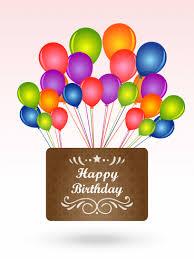 vivid color birthday balloons card birthday u0026 greeting cards by