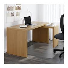 desk with pull out panel malm desk with pull out panel oak veneer 151x65 cm ikea for amazing