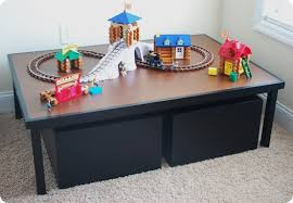 kids play table with storage kids activity table with storage developerpanda