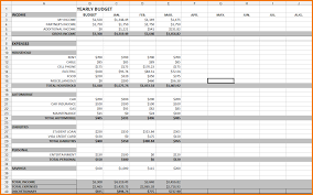 Excel Spreadsheet For Business Expenses by Spreadsheet For Monthly Expenses Laobingkaisuo Com