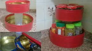 diy spice organizer for kitchen kitchen organization ideas youtube