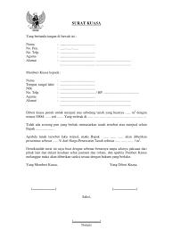 format surat kuasa jual beli rumah contoh surat kuasa jual beli tanah