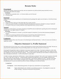 Resume Statements Examples by 8resume Statement Writable Calendar