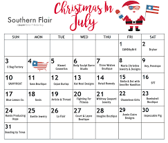 christmas in july 31 days local deals southern flair