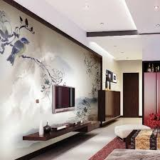 Modern Living Room Wall Mounted Entertainment Unit The Beauty Of - Designs for living room walls