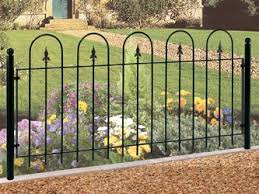 wrought iron garden fence crafts home