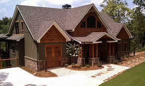 One Story Lake House Plans Rustic Mountain Home Designs Photo Of Well One Story Mountain Home