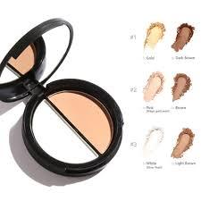 Color Concealer Highlighter Double Mixed Color Concealer Bronzer Palette Bronzer