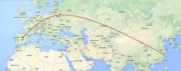 Silk Road Map Has China Just Created The New Silk Road Teach Abroad Teach