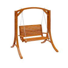 Outdoor Patio Swing by Amazon Com Corliving Pwc 331 S Wood Canyon Cinnamon Brown