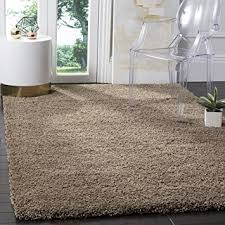 Taupe Area Rug Safavieh California Shag Collection Sg151 2424 Taupe