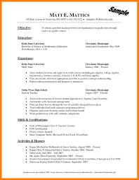 math tutor resume 7 tutor resume sles mla cover page