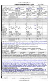 construction deficiency report template exle appraisal report important things to look for
