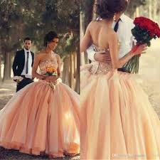 coral quince dress 2015 chagne quinceanera dresses coral organza crystals beaded