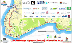 Grand Cayman Map Intertrust Cayman Islands Marathon Dec 03 2017 World U0027s Marathons