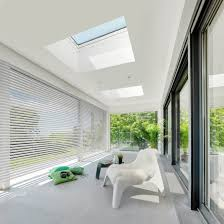 skylight design fakro launches skylights designed especially for flat roofs