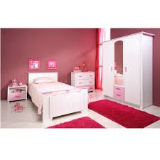 elegance chambre complète enfant avec commode contemporain blanc
