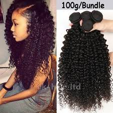 hair bonding women s curly human weaving bonding hair extensions ebay