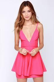 hot pink dress hot pink dress sleeveless dress peplum dress 44 00