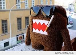Domo Meme - domo smokes d by ben meme center