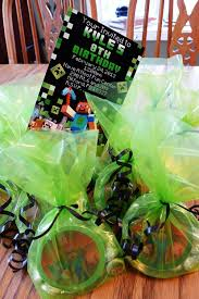 minecraft goody bags unique minecraft party favors