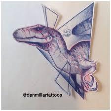 die besten 25 velociraptor tattoo ideen auf pinterest jurassic