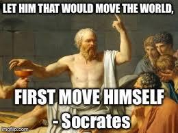 Philosophy Meme - father of western philosophy imgflip