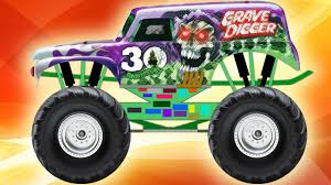 monster jam trucks videos monster truck grave digger youtube