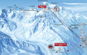 Piste Maps For Italian Ski by Chamonix Valley Ski Resorts Map Grands Montets La Flegere Brevent