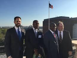 chambre de commerce am駻icaine en visite de la délégation ivoirienne à la chambre de commerce