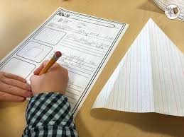 1st grade writing paper 1st grade how to writing the brown bag teacher hands on experiences building paper planes