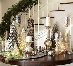 Pottery Barn Christmas Mantel Decorations by 123 Best Mercury Glass Decorating Images On Pinterest Christmas