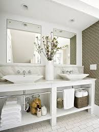 Bathroom Vanity With Shelves 15 Exquisite Bathrooms That Make Use Of Open Storage