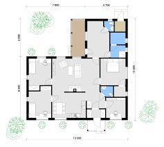 prefab house floor plans prefabricated house u2013 nova 143 u2013 price 13 000 u20ac vat