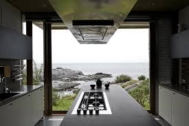 beautiful grey brown wood glass modern design kitchen island f