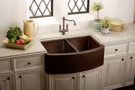 Country Kitchen Faucets Country Kitchen Design With Farm Style Copper Kitchen Sinks