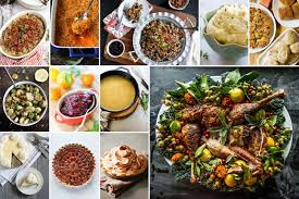 thanksgiving traditionalng food list marvelous spread