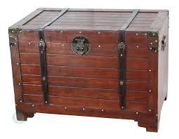 amazon com vintiquewise tm old fashioned wooden storage treasure