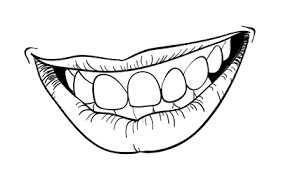 how to draw a smiling mouth u2013 sketchbook challenge 22