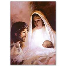 holy family painting mix match card