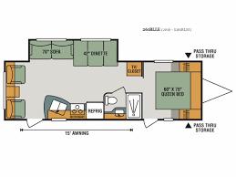 Sportsman Rv Floor Plans 2018 K Z Sportsmen Le 261rlle For 19 699
