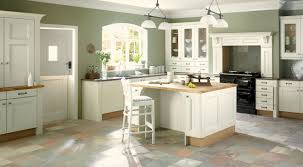 huge white kitchen cabinets with grey glaze combined brown wooden
