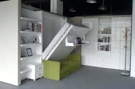 space saving double bed fold up double bed functional space saving wall hidden with sofa and