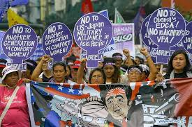 Comfort Women In Philippines Philippine Women Attend Protest Rally In Manila Xinhua English