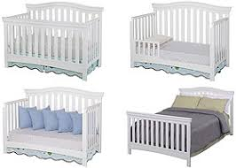 Delta 4 In 1 Convertible Crib Delta Bennington Bell 4 In 1 Convertible Crib White Ambiance