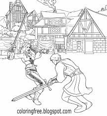 army coloring book battle clipart medieval army pencil and in color battle clipart