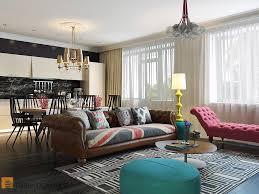 Studio Apartment Interior Design Ideas Bright And Cheerful Interior Design By Pavel Polinov Studio